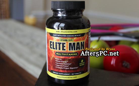 Vitamin Elite - Elite Man Multivitamins review
