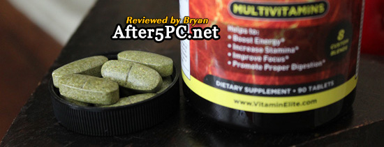 Review of Elite Man Multivitamins for Men - All-in-one Formula Helps Boost Energy, Enhance Focus & Stamina