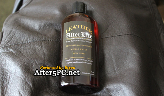 Leather Afterlife Leather Conditioner and Restorer - Leather restoration review