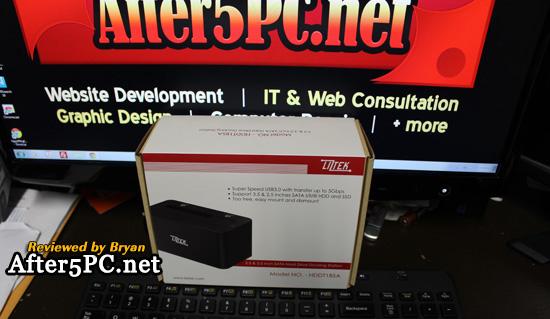 Review - Liztek HDDT1BSA USB 3.0 Super Speed to SATA Single Bay
