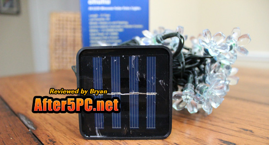 Review of Ohuhu 50 LED Flower Blossom Solar Fairy Lights