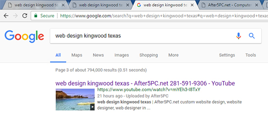 web design kingwood texas - After5PC.net website designer in kingwood tx