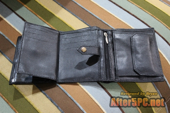 Handmade Men's Leather Wallet Sold by KP Inc Products Review