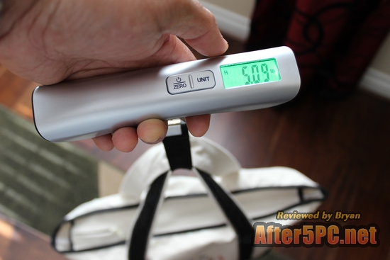 Huismart Multifunctional Luggage Scale 110lbs w Temperature Sensor and Large Green LCD Review
