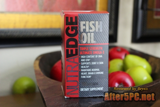 Best Recommended NutraEdge Triple Strength Fish Oil Supplement Review