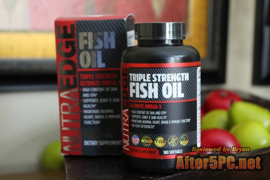 TRIPLE STRENGTH Fish Oil 180 Softgels - Ultimate Omega-3, 3000mg Fish Oil, High Content of DHA & EPA, No Fishy Aftertaste, Supports Joint & Skin Health, Maintains Normal Heart, Brain & Immune Function