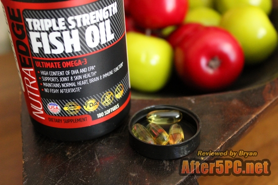 Review of NutraEdge Triple Strength Fish Oil Review