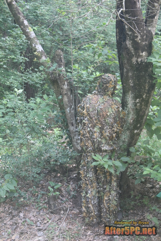 Sniper Outfitters XL Ghillie Suits 3D Leafy Camo Suit for Hunting. Ghillie Suit for Men Camouflage Army Military Clothing and Camo Hunting Suit, Excellent for Deer, Elk, Bird and Turkey Hunting