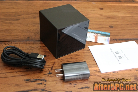 Wholesale Discount Promotional Sale LIZVIE Hidden Spy Cube Clock Nanny Camera