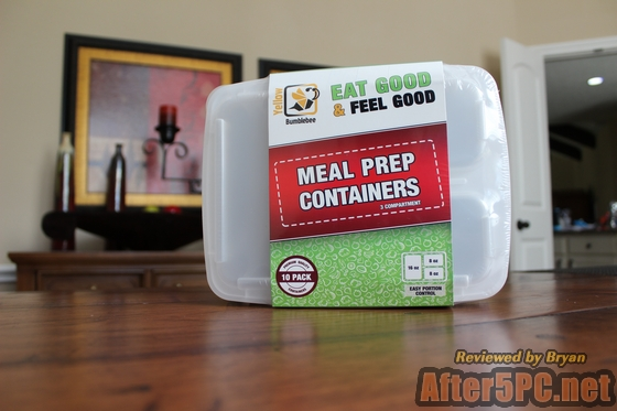 Yellow Bumblebee Meal Prep Containers Review
