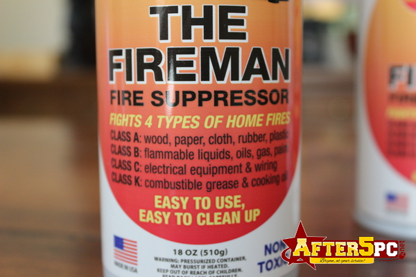 Wholesale Discount Promo Sale The Fireman Fire Suppressor Portable Fire Extinguisher in a Can Bottle