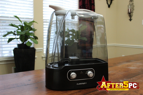 Clarion Air Ultrasonic Cool Mist Humidifier Review