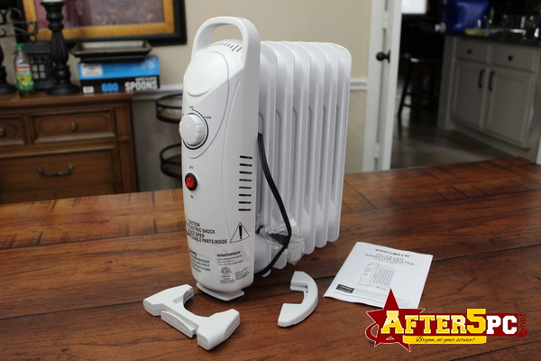 Review Trustech 700W Portable Mini Radiator Oil Filled Heater Review