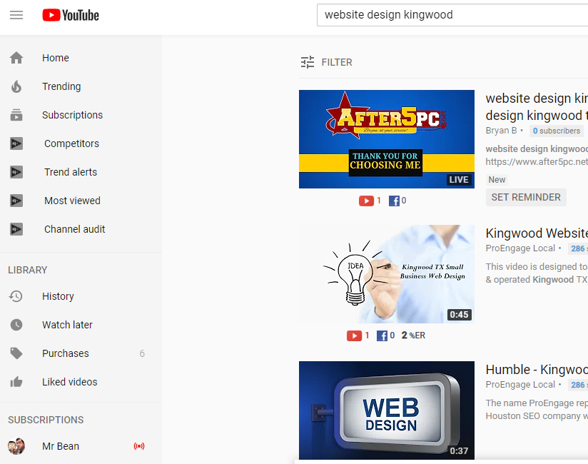 website design kingwood tx near me