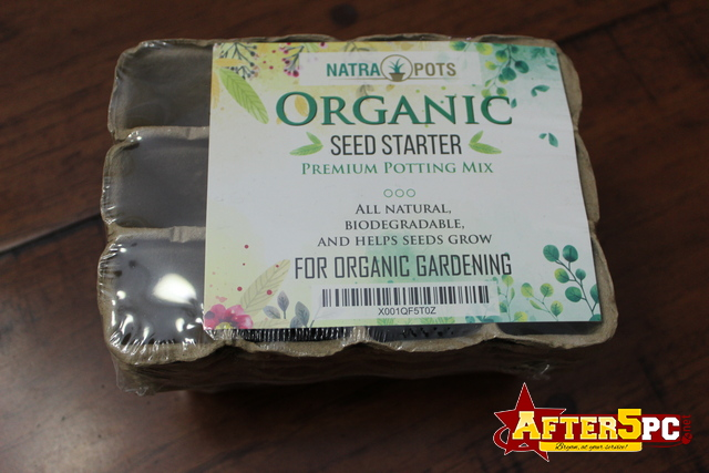 Review NatraPots Organic Seed Starter Tray Review
