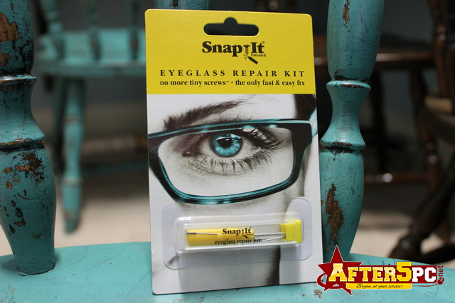 SnapIt Eyeglass Repair Kit Review and Free Giveaway
