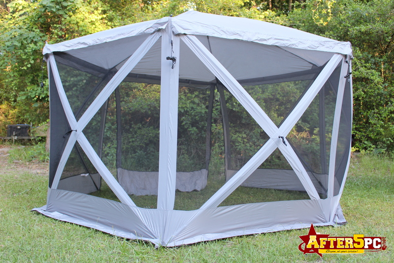 Review Leader Accessories Pop Up Hub Camping Screen House Canopy Gazebo Tent Review