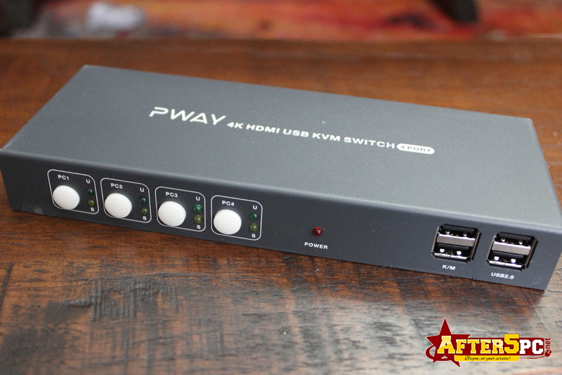 PWAY 4K HDMI USB KVM Switch Review
