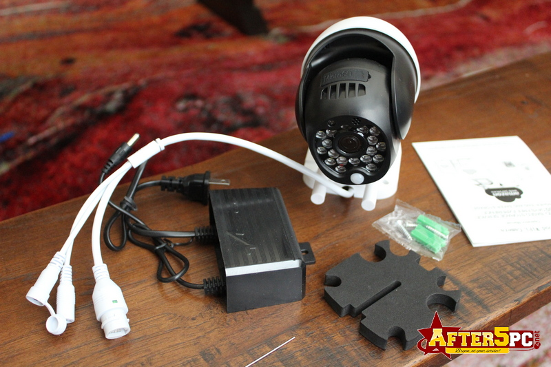 Review EsiCam Wireless Dome PTZ Surveillance IP Camera Review