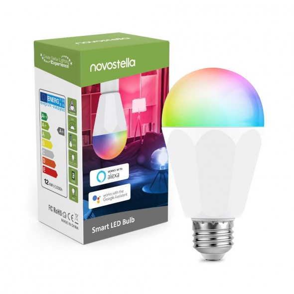 Best Recommended Novostella RGB Smart LED Light Bulb Review Unboxing Wholesale Discount Sale