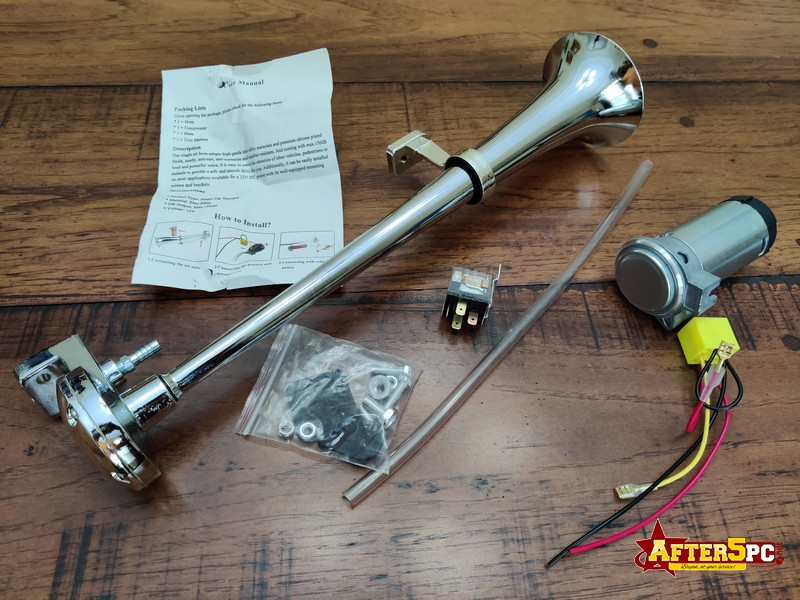 SCSHOPPING Compressor Air Horn Review