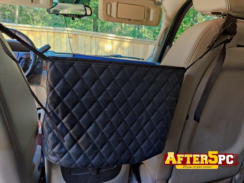 Car Truck SUV backseat organizer purse holder review