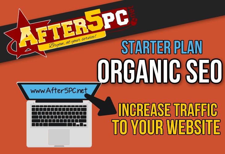 After5PC.net Organic Traffic SEO Provider