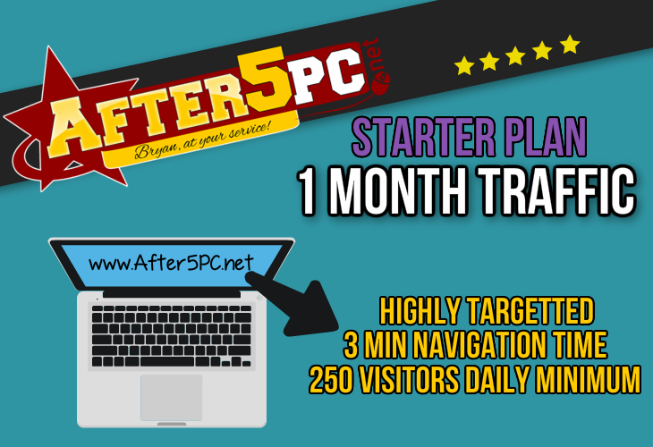 After5PC.net Increase Organic Traffic to Website Visitors Marketing Agency